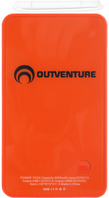 Аккумулятор переносной Outventure
