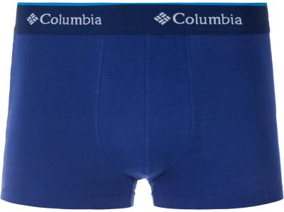 Трусы мужские ColumbiaМужские трусы-боксеры от columbia. Отведение влаги технология omni-wick обеспечивает эффективный влагоотвод.<br>Пол: Мужской; Возраст: Взрослые; Плоские швы: Да; Технологии: Omni-Wick; Производитель: Columbia Delta; Артикул производителя: DCL14BLU2XL; Страна производства: Бангладеш; Материалы: 95 % хлопок, 5 % спандекс; Размер RU: 52-54;