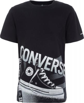 Купить Футболку для мальчиков Converse Chuck, размер 152 черного цвета