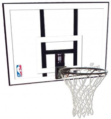 Купить со скидкой Баскетбольный щит Spalding NBA Combo 44 Acrylic