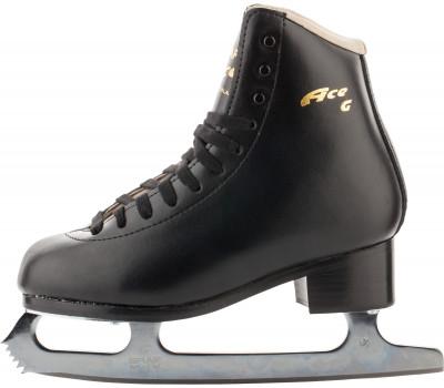 Graf Ace Special M IV (подростковые)Ледовые коньки<br>Классические фигурные коньки от graf. Модель для фигуристов начального уровня. Предназначен для изучения одинарных прыжков и основных элементов фигурного катания.