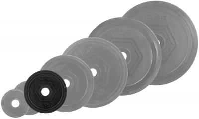 Блин стальной обрезиненный RZR 2,5 кгОбрезиненные блины для комплектации различных тренировочных грифов: прямых, изогнутых ez образных, w- образных, гантельных. Посадочный диаметр составляет 31 мм.<br>Посадочный диаметр: 31 мм; Внешний диаметр: 174; Толщина: 27; Материал диска: Сталь; Покрытие: Резина; Вес, кг: 2,5; Вид спорта: Силовые тренировки; Производитель: RZR; Артикул производителя: RZR-R25; Страна производства: Китай; Размер RU: Без размера;