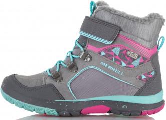Ботинки утепленные для девочек Merrell Moab Fst Polar Mid