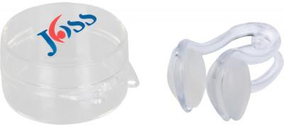 Зажим для носа JossПредназначен для занятий спортом на воде, предотвращает попадание воды в нос во время плавания.<br>Пол: Мужской; Возраст: Взрослые; Вид спорта: Плавание; Состав: Зажим: силикон; коробка: полипропилен; Производитель: Joss; Артикул производителя: JN11010; Страна производства: Китай; Размер RU: Без размера;