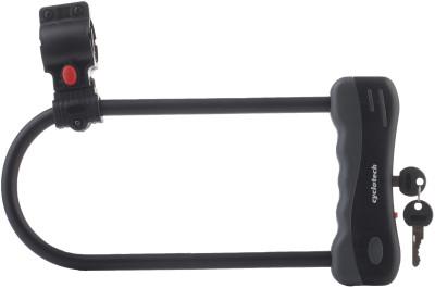 Замок велосипедный с ключами CyclotechЗамок с ключами поможет предотвратить кражу велосипеда.<br>Материал замка: Пластик, прорезиненное покрытие скобы; Материал троса: Сталь; Толщина: 12 мм; Вид спорта: Велоспорт; Производитель: Cyclotech; Артикул производителя: CLK-7; Длина: 16,5 * 32 см; Страна производства: Китай; Размер RU: Без размера;