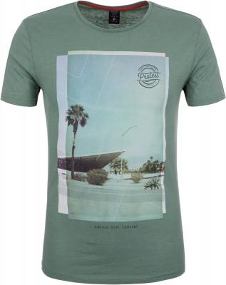 Футболка мужская Protest Mater, размер 46-48Surf Style <br>Мужская футболка с принтом protest незаменима для активного летнего отдыха у воды.