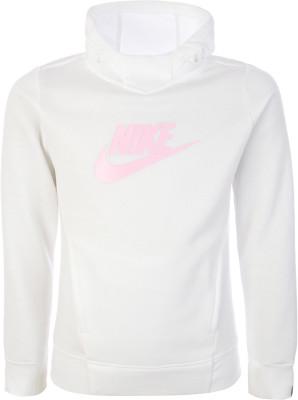 Джемпер для девочек Nike Sportswear, размер 128-137Джемперы<br>Мягкое и теплое худи nike sportswear для комфорта в спортивном стиле. Натуральные материалы натуральный хлопок обеспечивает комфорт и воздухообмен.