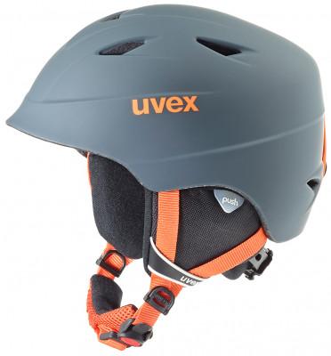 Шлем детский Uvex Airwing 2 ProШлемы<br>Детский шлем uvex airwing 2 обеспечит максимальный комфорт на склоне. Защита конструкция inmould делает шлем одновременно легким и прочным.