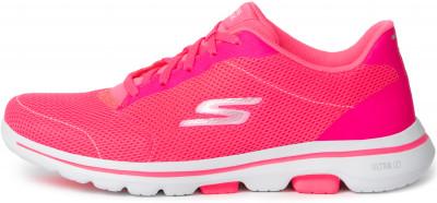 Кроссовки женские Skechers Go Walk 5 Lucky, размер 36