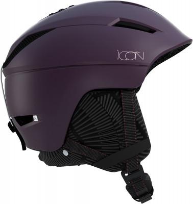 Шлем женский Salomon Icon C.AirШлемы<br>Низкопрофильный шлем с регулируемой посадкой от salomon - отличный выбор для трассового катания.