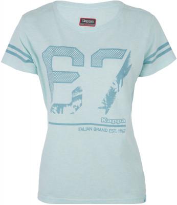 Футболка женская Kappa, размер 42Футболки<br>Футболка в спортивном стиле от kappa, декорированная графикой в стиле бренда.