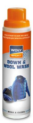Моющее средство для стирки пуха, шерсти и шелка Woly Sport Down &amp; Wool Wash, 250 млСпециальное средство для стирки пуховиков, спальных мешков и других пуховых изделий. Средство предохраняет пух от ломкости, сохраняя его эластичность и воздухопроницаемость.<br>Пол: Мужской; Возраст: Взрослые; Вид спорта: Аксессуары; Объем: 0,25; Производитель: Woly; Артикул производителя: 6067; Страна производства: Германия; Материалы: 5-15 % неанионные тензиды, 5-15 % анионные тензиды, Soap, Frangrances, Benzyl alcohol, Citronellol, Methylisothiazolinone, Benzisothiazolinone; Размер RU: Без размера;