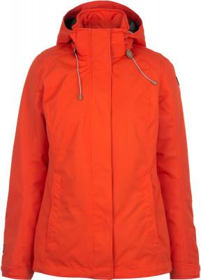 Куртка утепленная женская IcePeak VeelaУтепленная женская куртка icepeak - оптимальный выбор для походов.<br>Пол: Женский; Возраст: Взрослые; Вид спорта: Походы; Вес утеплителя на м2: 80 г/м2; Наличие мембраны: Да; Наличие чехла: Нет; Возможность упаковки в карман: Нет; Регулируемые манжеты: Да; Длина по спинке: 72 см; Водонепроницаемость: 3000 мм; Паропроницаемость: 3000 г/м2/24 ч; Защита от ветра: Нет; Отверстие для большого пальца в манжете: Нет; Покрой: Приталенный; Светоотражающие элементы: Нет; Дополнительная вентиляция: Нет; Проклеенные швы: Нет; Длина куртки: Длинная; Наличие карманов: Да; Капюшон: Отстегивается; Мех: Отсутствует; Количество карманов: 3; Артикулируемые локти: Нет; Застежка: Молния; Технологии: Icetech 3 000, Water Repellent; Производитель: IcePeak; Артикул производителя: 53014817XV; Страна производства: Китай; Материал верха: 100 % полиэстер; Материал подкладки: 100 % полиамид; Материал утеплителя: 100 % полиэстер; Размер RU: 48;