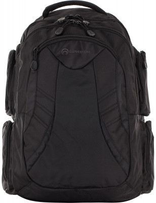 Рюкзак OutventureРюкзаки<br>Удобный рюкзак с широкими лямками и большим количеством функциональных отделений - отличный выбор для путешествий. Высота 50 см, ширина 33 см, глубина 20 см. Вес: 960 грамм.