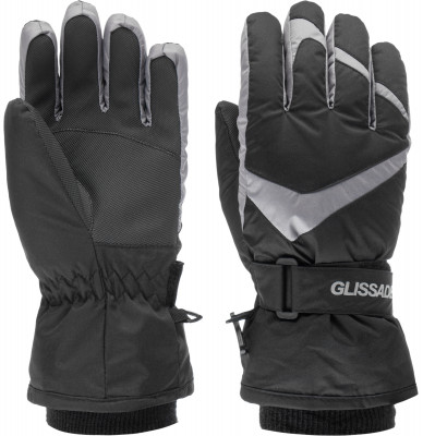 Купить со скидкой Перчатки для мальчиков Glissade, размер 4