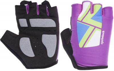 Перчатки велосипедные Cyclotech CannaВелосипедные перчатки cyclotech. Особенности модели: гасят неприятные вибрации; комфортная посадка; хорошая вентиляция; петли между пальцами позволяют легко снять перчатки.<br>Возраст: Взрослые; Пол: Женский; Размер: 5,5; Материал верха: 50 % искусственная кожа, 35 % эластан, 15 % нейлон; Тип фиксации: Резинка; Производитель: Cyclotech; Артикул производителя: CNN-BL-XS; Срок гарантии: 6 месяцев; Страна производства: Пакистан; Размер RU: 5,5;