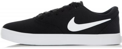 Кеды женские Nike SB Check SolarsoftСкейтерские кеды от nike станут идеальным завершением образа в спортивном стиле.<br>Пол: Женский; Возраст: Взрослые; Вид спорта: Спортивный стиль; Способ застегивания: Шнуровка; Материал верха: 100 % текстиль; Материал подкладки: 100 % текстиль; Материал подошвы: 100 % резина; Производитель: Nike; Артикул производителя: 921463-010; Страна производства: Индонезия; Размер RU: 35,5;