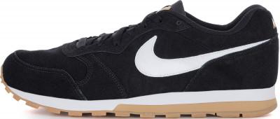 Кроссовки мужские Nike MD Runner 2, размер 42Кроссовки <br>Мужские кроссовки nike md runner 2 suede с замшевым верхом выполнены в стиле легендарной модели для бега 90-х годов.