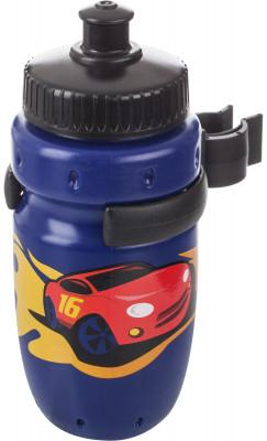 Фляжка велосипедная детская CyclotechДетская питьевая фляга с держателем. Особенности модели: крепится на руль; выполнена из пищевого пластика; объем: 350 мл.<br>Объем: 350 мл; Размеры (дл х шир х выс), см: 6,5 x 13 x 6,5; Вид спорта: Велоспорт; Материалы: Полиэтилен высокого давления; Производитель: Cyclotech; Артикул производителя: CBS-1BN.; Страна производства: Тайвань; Размер RU: Без размера;