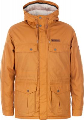 Куртка утепленная мужская Columbia Maguire Place IIУтепленная мужская куртка-парка от columbia незаменима в поездках. Сохранение тепла флисовая подкладка хорошо сохраняет тепло.<br>Пол: Мужской; Возраст: Взрослые; Вид спорта: Путешествие; Вес утеплителя на м2: 80 г/м2; Наличие мембраны: Нет; Возможность упаковки в карман: Нет; Регулируемые манжеты: Да; Длина по спинке: 76 см; Покрой: Прямой; Светоотражающие элементы: Нет; Дополнительная вентиляция: Нет; Проклеенные швы: Нет; Длина куртки: Средняя; Наличие карманов: Да; Капюшон: Не отстегивается; Мех: Отсутствует; Количество карманов: 4; Водонепроницаемые молнии: Нет; Застежка: Молния; Производитель: Columbia; Артикул производителя: 1619751708M; Страна производства: Вьетнам; Материал верха: 65 % полиэстер, 35 % хлопок; Материал подкладки: 100 % полиэстер; Материал утеплителя: 100 % полиэстер; Размер RU: 46-48;