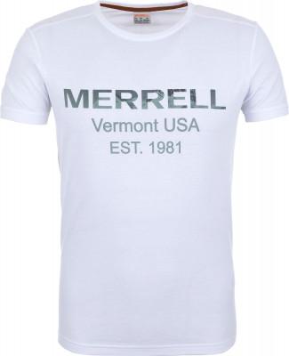 Футболка мужская Merrell, размер 52Футболки<br>Футболка merrell, созданная специально для путешествий и долгих прогулок в летние дни. Натуральные материалы натуральный хлопок делает ткань мягкой и воздухопроницаемой.
