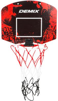 Набор для баскетбола: мяч, щит DemixМини-набор для игры в баскетбол.<br>Материал каркаса: ABS Plastic; Размер упаковки: 33,5 x 29,5; Вес, кг: 0,4; Вид спорта: Баскетбол; Артикул производителя: D-BRDMINB1; Производитель: Demix; Срок гарантии: 6 месяцев; Страна производства: Китай; Размер RU: Без размера;