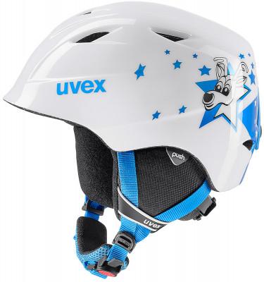 Шлем детский Uvex Airwing 2Детский шлем uvex airwing 2 обеспечит максимальный комфорт на склоне. В модели предусмотрены система вентиляции, съемная защита ушей и фиксатор стрэпа маски.<br>Пол: Мужской; Возраст: Дети; Вид спорта: Горные лыжи; Конструкция: In-mould; Вентиляция: Принудительная; Сертификация: EN 1077 B; Регулировка размера: Есть; Тип регулировки размера: Поворотное кольцо; Материал внешней раковины: Поликарбонат; Материал внутренней раковины: Пенополистирол; Материал подкладки: Полиэстер; Технологии: IAS; Производитель: Uvex; Артикул производителя: 6132; Срок гарантии: 2 года; Страна производства: Китай; Размер RU: 48-52;