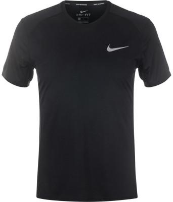 Футболка мужская Nike Dry MilerУдобная и технологичная футболка nike dry miler - превосходный вариант для бега. Отведение влаги ткань nike dri-fit отлично отводит влагу от кожи.<br>Пол: Мужской; Возраст: Взрослые; Вид спорта: Бег; Покрой: Прямой; Плоские швы: Да; Светоотражающие элементы: Есть; Материалы: 100 % полиэстер; Технологии: Nike Dri-FIT; Производитель: Nike; Артикул производителя: 833591-010; Страна производства: Камбоджа; Размер RU: 50;