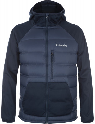 Куртка пуховая мужская Columbia RambleТеплая мужская куртка columbia ramble - превосходный выбор для походов, запланированных на холодное время года.<br>Пол: Мужской; Возраст: Взрослые; Вид спорта: Походы; Коэффициент плотности набивки пуха: 700; Наличие мембраны: Нет; Возможность упаковки в карман: Нет; Регулируемые манжеты: Нет; Длина по спинке: 71 см; Покрой: Прямой; Светоотражающие элементы: Нет; Дополнительная вентиляция: Нет; Проклеенные швы: Нет; Длина куртки: Средняя; Наличие карманов: Да; Капюшон: Не отстегивается; Мех: Отсутствует; Количество карманов: 3; Водонепроницаемые молнии: Нет; Застежка: Молния; Технологии: Omni-Shield; Производитель: Columbia; Артикул производителя: 1737901464XL; Страна производства: Вьетнам; Материал верха: 100 % нейлон; Материал подкладки: 100 % нейлон; Материал утеплителя: 90 % пух, 10 % перо; Размер RU: 52-54;