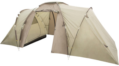 Outventure Twin Sky 4 BasicЧетырехместная палатка станет отличным вариантом для выездов на природу и многодневного кемпинга.<br>Назначение: Кемпинговые; Количество мест: 4; Наличие внутренней палатки: Да; Тип каркаса: Внешний; Геометрия: Полубочка; Вес, кг: 8,8; Размер в собранном виде (д х ш х в): 490 x 210 x 180 см; Размер в сложенном виде (дл. х шир. х выс), см: 60 x 22 x 22; Размер тамбура (д х ш х в): 200 x 210 x 180 см; Количество комнат: 2; Количество входов: 1; Диаметр дуг: 9,5 мм, 11 мм; Внешний тент: Да; Усиленные углы: Да; Количество оттяжек: 12; Крепление для фонаря: Да; Водонепроницаемость тента: 1200 мм в.ст.; Водонепроницаемость дна: 10 000 мм в.ст.; Проклеенные швы: Да; Материал тента: Полиэстер; Материал внутренней палатки: Полиэстер; Материал дна: Армированный полиэтилен; Материал каркаса: Фибергласс; Материал колышков: Сталь; Вид спорта: Кемпинг; Производитель: Outventure; Артикул производителя: 0KE118T1; Срок гарантии: 2 года; Страна производства: Бангладеш; Размер RU: Без размера;