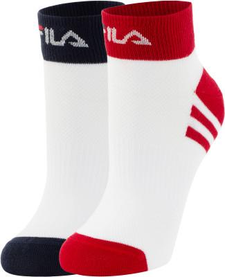 Носки FILA, 2 пары, размер 35-38