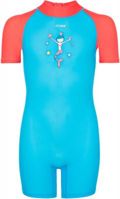 Костюм плавательный для девочек JossДетский плавательный костюм на молнии c комбинированными деталями и ярким рисунком.<br>Пол: Женский; Возраст: Малыши; Вид спорта: Пляж; Назначение: Пляжный отдых; Устойчивость к хлору: Да; Материал верха: 80 % полиамид, 20 % спандекс; Производитель: Joss; Артикул производителя: S17AJ0OQ11; Страна производства: Китай; Размер RU: 110;