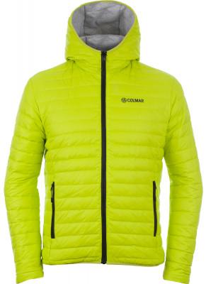 Куртка пуховая мужская ColmarЛегкая двусторонняя куртка colmar, разработанная специально для любителей горных лыж.<br>Пол: Мужской; Возраст: Взрослые; Вид спорта: Горные лыжи; Паропроницаемость: 5000 г/м2/24 ч; Защита от ветра: Есть; Покрой: Прямой; Проклеенные швы: Да; Длина куртки: Средняя; Капюшон: Не отстегивается; Снегозащитная юбка: Есть; Количество карманов: 2; Карман для маски: Есть; Карман для Ski-pass: Есть; Водонепроницаемые молнии: Да; Артикулируемые локти: Есть; Производитель: Colmar; Артикул производителя: 1010-6PU; Страна производства: Китай; Материал верха: 88 % хлопок, 12 % полиэстер; Материал подкладки: 100 % полиамид; Материал утеплителя: 90 % пух, 10 % перо; Размер RU: 52;