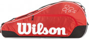 Сумка Wilson Federer Team Iii Triple Rd