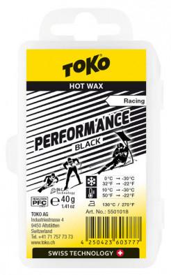 Мазь скольжения TOKO Performance black, 40 г +10С/-30C