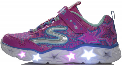 Кроссовки для девочек Skechers Galaxy Lights, размер 31