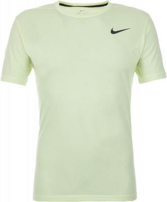 Футболка мужская Nike Breathe, размер 44-46Футболки<br>Технологичная футболка nike dri-fit breathe позволяет тренироваться с полной отдачей.