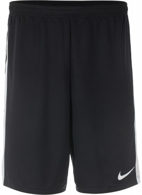 Шорты мужские Nike DryМужские футбольные шорты nike dry - оптимальный выбор для игр и тренировок. Отведение влаги ткань nike dry эффективно отводит влагу от кожи.<br>Пол: Мужской; Возраст: Взрослые; Вид спорта: Футбол; Производитель: Nike; Артикул производителя: 832508-010; Страна производства: Шри-Ланка; Материал верха: 100 % полиэстер; Размер RU: 50-52;