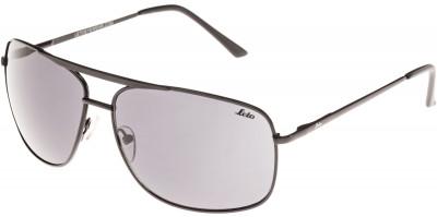 Солнцезащитные очки мужские LetoЛегкие и удобные солнцезащитные очки с полимерными линзами в металлической оправе.<br>Цвет линз: Серый; Назначение: Городской стиль; Пол: Мужской; Возраст: Взрослые; Ультрафиолетовый фильтр: Да; Материал линз: Полимерные линзы; Оправа: Пластик; Производитель: Leto; Артикул производителя: 701639A; Срок гарантии: 1 месяц; Страна производства: Китай; Размер RU: Без размера;