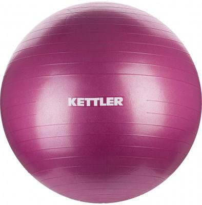 Мяч гимнастический Kettler, 75 смГимнастический мяч идеально подходит для физиотерапии, различных упражнений для пресса и спины.<br>Максимальный вес пользователя: 120 кг; Диаметр: 75 см; Состав: Поливинилхлорид, резина; Вид спорта: Фитнес; Производитель: Kettler; Артикул производителя: 7350-134; Срок гарантии: 2 года; Страна производства: Китай; Размер RU: 75 см;