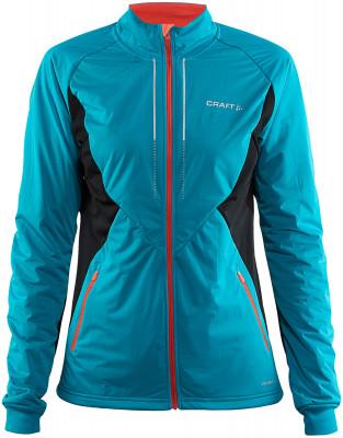 Куртка женская CraftКуртка от craft станет отличным вариантом для занятия беговыми лыжами даже в морозные дни.<br>Пол: Женский; Возраст: Взрослые; Вид спорта: Беговые лыжи; Наличие мембраны: Да; Водонепроницаемость: 8000 мм; Паропроницаемость: 8000 г/м2/24 ч; Защита от ветра: Да; Покрой: Приталенный; Светоотражающие элементы: Да; Дополнительная вентиляция: Есть; Проклеенные швы: Нет; Длина куртки: Средняя; Капюшон: Отсутствует; Количество карманов: 2; Артикулируемые локти: Да; Технологии: VENTAIR Wind; Производитель: Craft; Артикул производителя: 1904257; Страна производства: Китай; Материал верха: 100 % полиэстер; Материал подкладки: 100 % полиэстер; Материал утеплителя: 100 % полиэстер; Размер RU: 48-50;