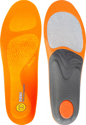 Стельки Sidas Feet, размер 39-41Стельки<br>Стелька sidas, специально разработанная для среднего свода стопы. Легкость использование пеноматериала эва обеспечивает низкий вес изделия.