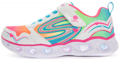 Кроссовки для девочек Skechers Heart Lights Love Spark, размер 31
