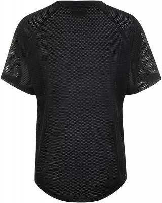 Фото 5 - Футболку женская Demix, размер 44 черного цвета
