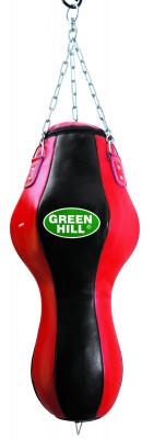Мешок набивной фигурный Green Hill, 25 кгФигурный набивной мешок, изготовленный из натуральной кожи, обладает удобной системой фиксации на растяжках и предназначен для отработки ж сткости и точности ударов руками и<br>Вес мешка: 25 кг; Высота мешка: 90 см; Диаметр мешка: 35 см; Материал верха: Натуральная кожа; Материал наполнителя: Резиновая крошка, текстиль; Подвесная система: В комплекте; Тип подвесной системы: Цепь; Вид спорта: Бокс, Карате, ММА, Самбо, Тхэквондо; Производитель: Green Hill; Артикул производителя: PB-9010; Срок гарантии: 1 год; Страна производства: Пакистан; Размер RU: Без размера;