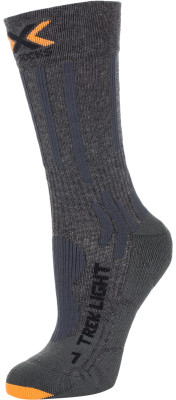 Носки X-Socks, 1 параУдобные и технологичные носки станут отличным выбором в путешествии. Защита от травм упругая поддержка голеностопа x-cross bandage гарантирует стабильность.<br>Пол: Мужской; Возраст: Взрослые; Вид спорта: Путешествие; Плоские швы: Да; Дополнительная вентиляция: Да; Материалы: 50 % нейлон, 32 % хлопок, 14 % полипропилен, 4 % эластан; Производитель: X-Socks; Артикул производителя: X020015-G000; Страна производства: Италия; Размер RU: 39-41;