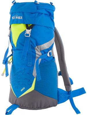 Tatonka Mani 20Трекинговый рюкзак для юных путешественников. Смягченная несущая система рюкзака приспособлена к телосложению ребенка.<br>Объем: 20; Вес, кг: 0,58; Размеры (дл х шир х выс), см: 50 x 23 x 14; Материал верха: Полиэстер; Нагрудный ремень: Есть; Верхний клапан: Есть; Поясной ремень: Есть; Вид спорта: Походы; Срок гарантии: 1 год; Производитель: Tatonka; Артикул производителя: P1825.194; Страна производства: Вьетнам; Размер RU: Без размера;