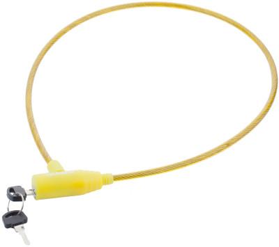 Замок велосипедный с ключамиПрочный велосипедный замок с ключами cyclotech позволит предотвратить кражу велосипеда особенности модели размер 6 мм х 70 см.<br>Материал замка: Пластик, виниловая оплетка; Материал троса: Сталь; Толщина: 6 мм; Вид спорта: Велоспорт; Производитель: Cyclotech; Артикул производителя: CLK-2YN.; Длина: 70 см; Страна производства: Китай; Размер RU: Без размера;