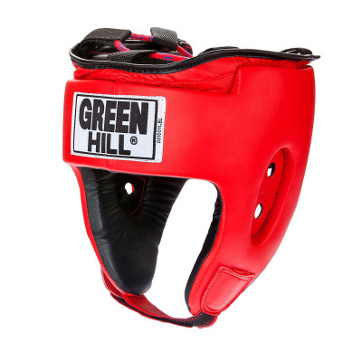 Шлем Green Hill SpecialУниверсальная защита для тренировок по боксу, мма, самбо. Шлем изготовлен из искусственной кожи. Двойная система крепления.<br>Вид спорта: Бокс, ММА, Самбо; Производитель: Green Hill; Артикул производителя: HGS-4025; Размер RU: L;
