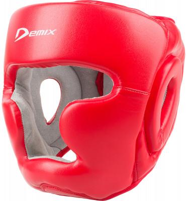 Шлем тренировочный DemixШлемы<br>Легкий и надежный тренировочный шлем незаменим на ринге. Модель отлично защищает голову, позволяя видеть действия спарринг-партнера.